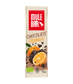 Barre Énergétique Mulebar Chocolat Orange