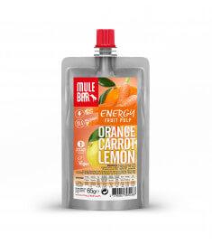 Orange Karotte Zitrone Fruchtfleisch