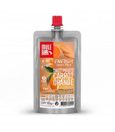 Fruchtfleisch Süßkartoffel Orange Karotte