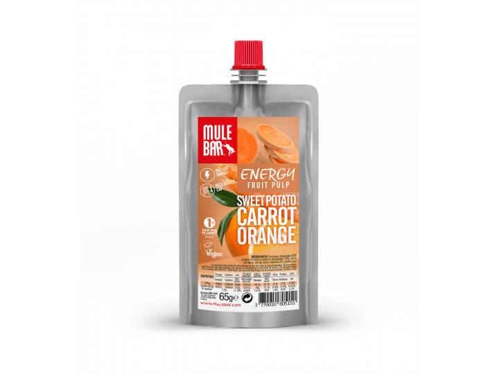 Pulpe de Fruits Patate Douce Orange Carotte