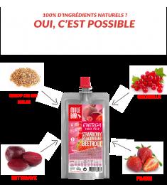 Ingrédients pulpe de fruits framboise groseille betterave Mulebar